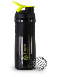 SportMixer черный/зеленая ручка (828 мл)