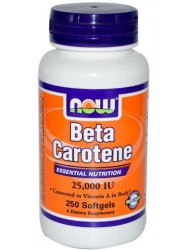 Beta Carotene 25000 IU (250 капс)